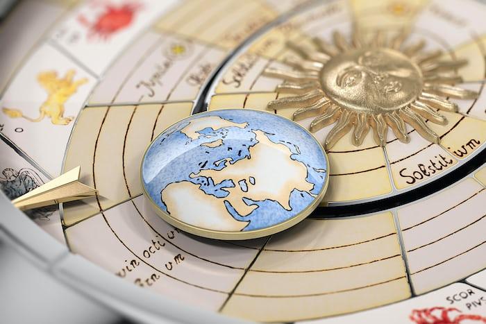 hand painted dial opernic 'Celestial Spheres' Metiers d'Art vacheron constantin