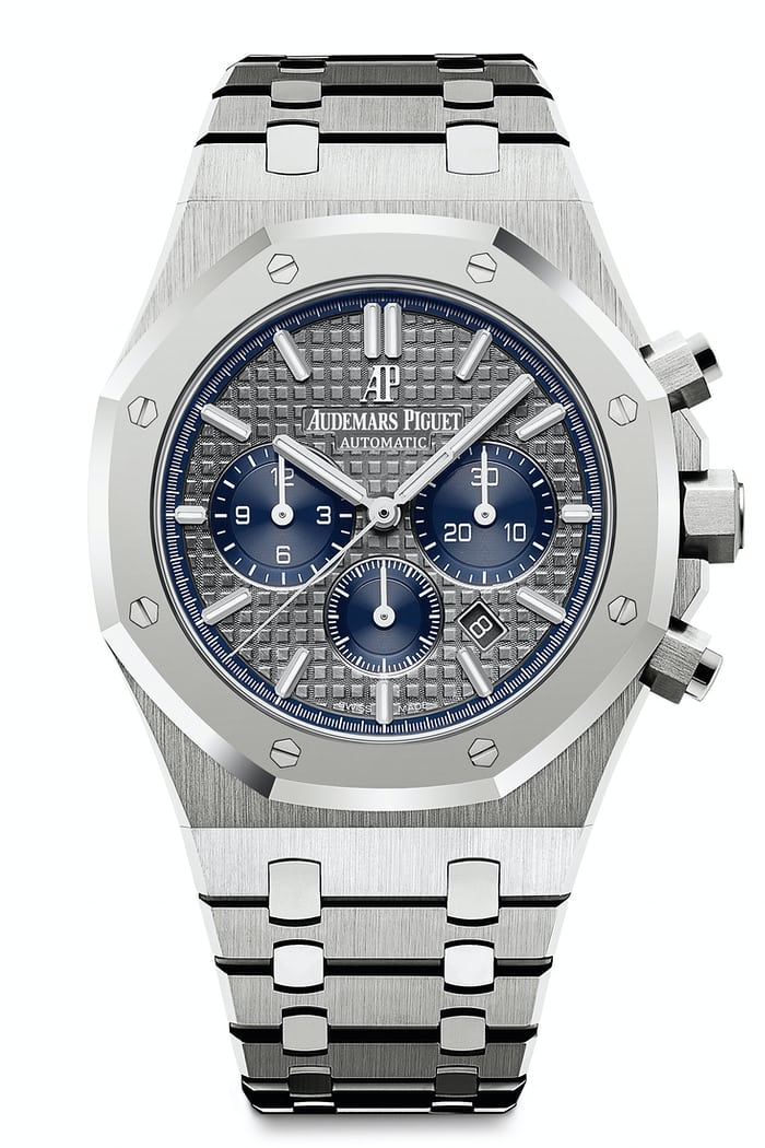 royal oak chronograph audemars piguet platinum titanium
