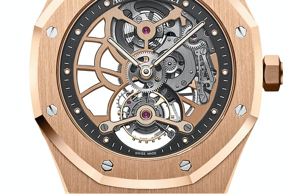 Audemars Piguet Royal Oak Tourbillon Extra-Thin Openworked pink gold
