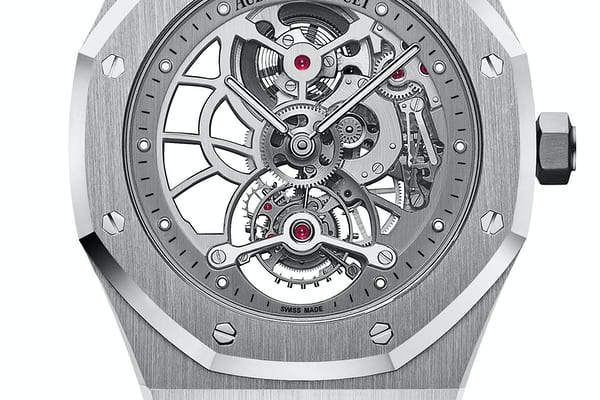 Audemars Piguet Royal Oak Tourbillon Extra-Thin Openworked steel