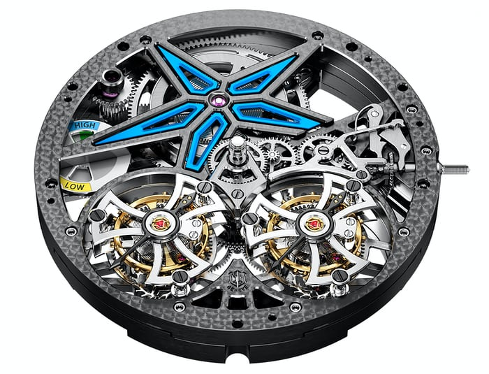 Roger Dubuis Excalibur Spider Pirelli With Double Flying Tourbillon Limited Edition movement