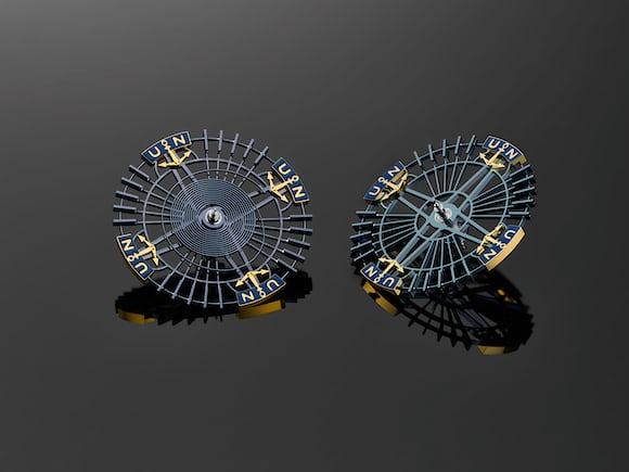 Ulysse Nardin Freak Innovision 2 balance wheel