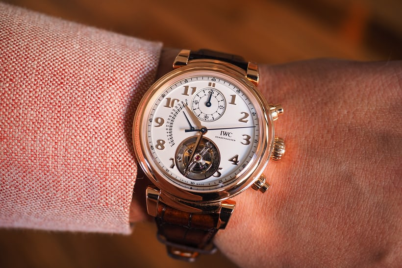 Da Vinci Tourbillon Rétrograde Chronograph wrist shot