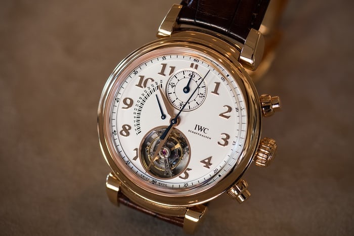 Da Vinci Tourbillon Rétrograde Chronograph dial side
