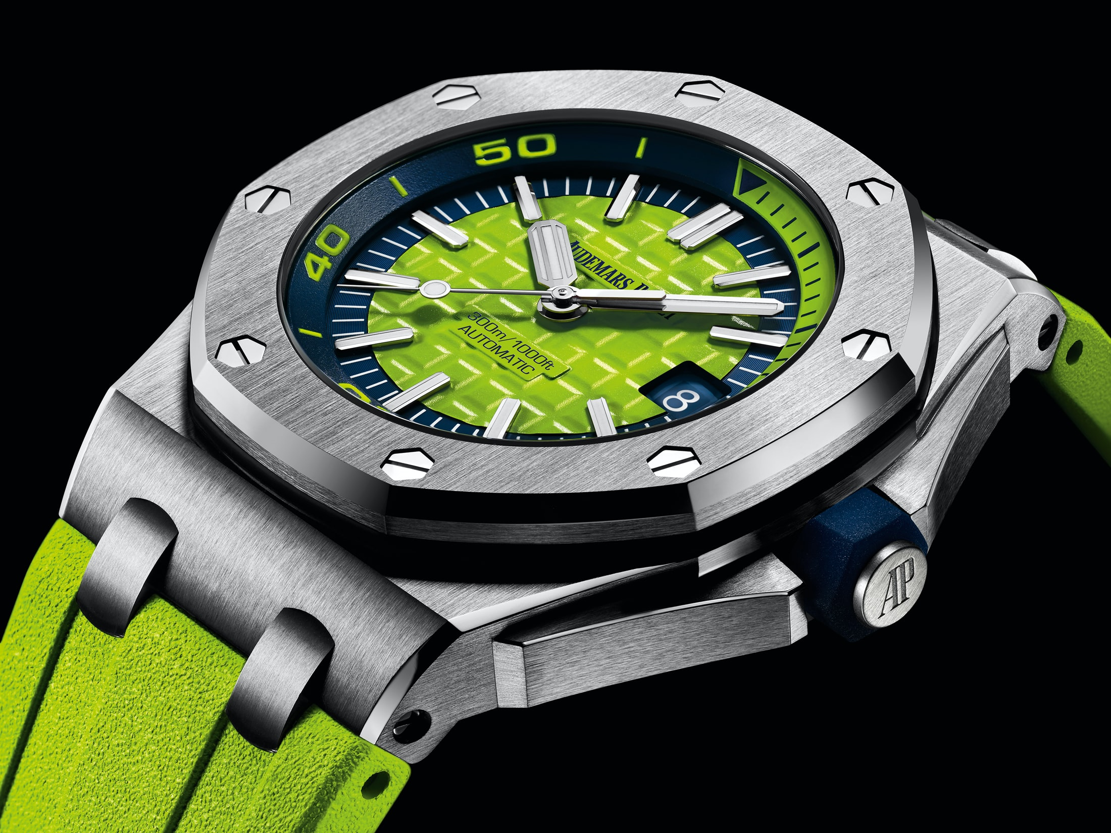 Introducing: The Audemars Piguet Royal Oak Offshore Diver In A Suite Of New (Bright) Colors Introducing: The Audemars Piguet Royal Oak Offshore Diver In A Suite Of New (Bright) Colors diver 01