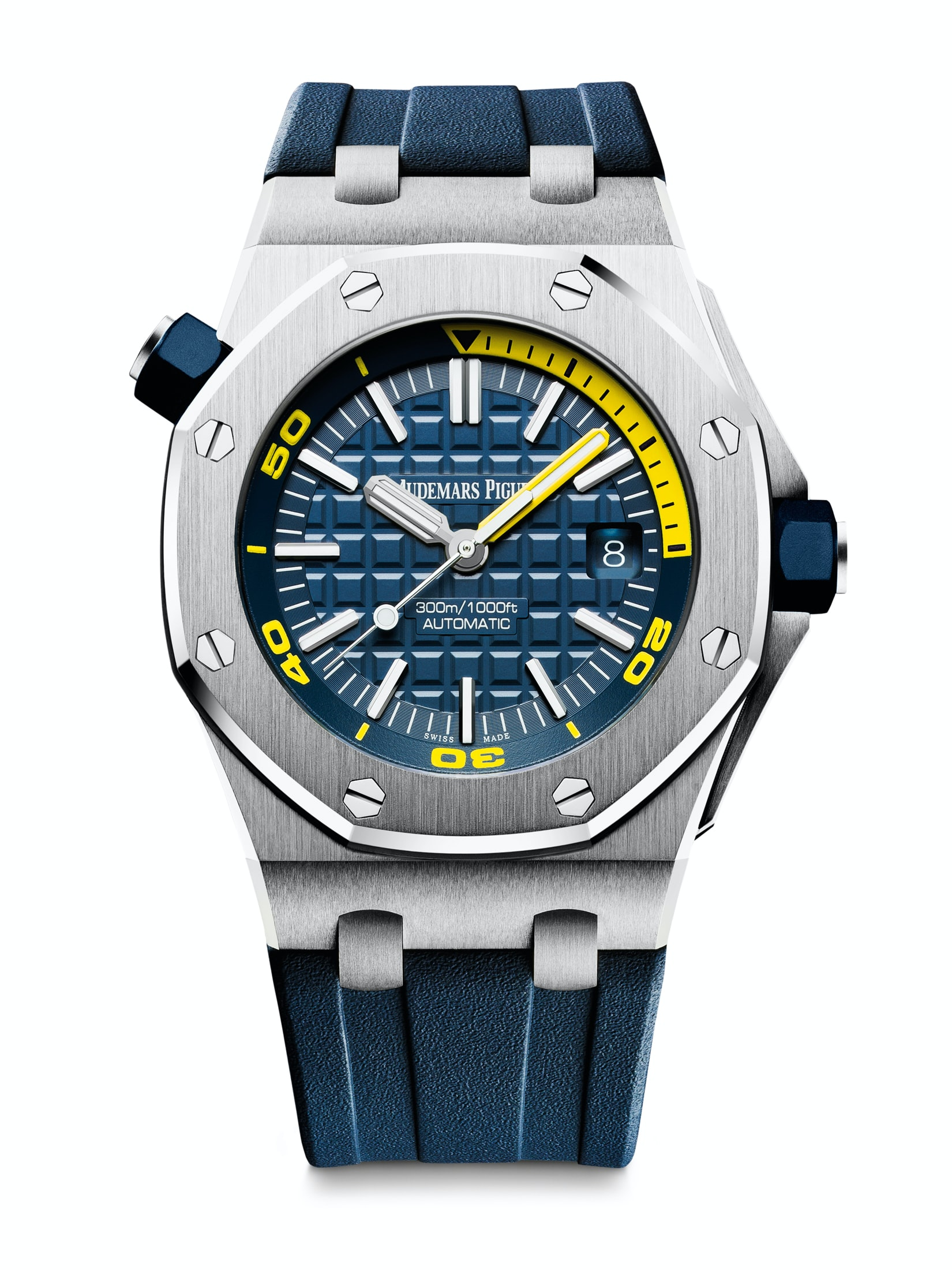 Introducing: The Audemars Piguet Royal Oak Offshore Diver In A Suite Of New (Bright) Colors Introducing: The Audemars Piguet Royal Oak Offshore Diver In A Suite Of New (Bright) Colors diver 03