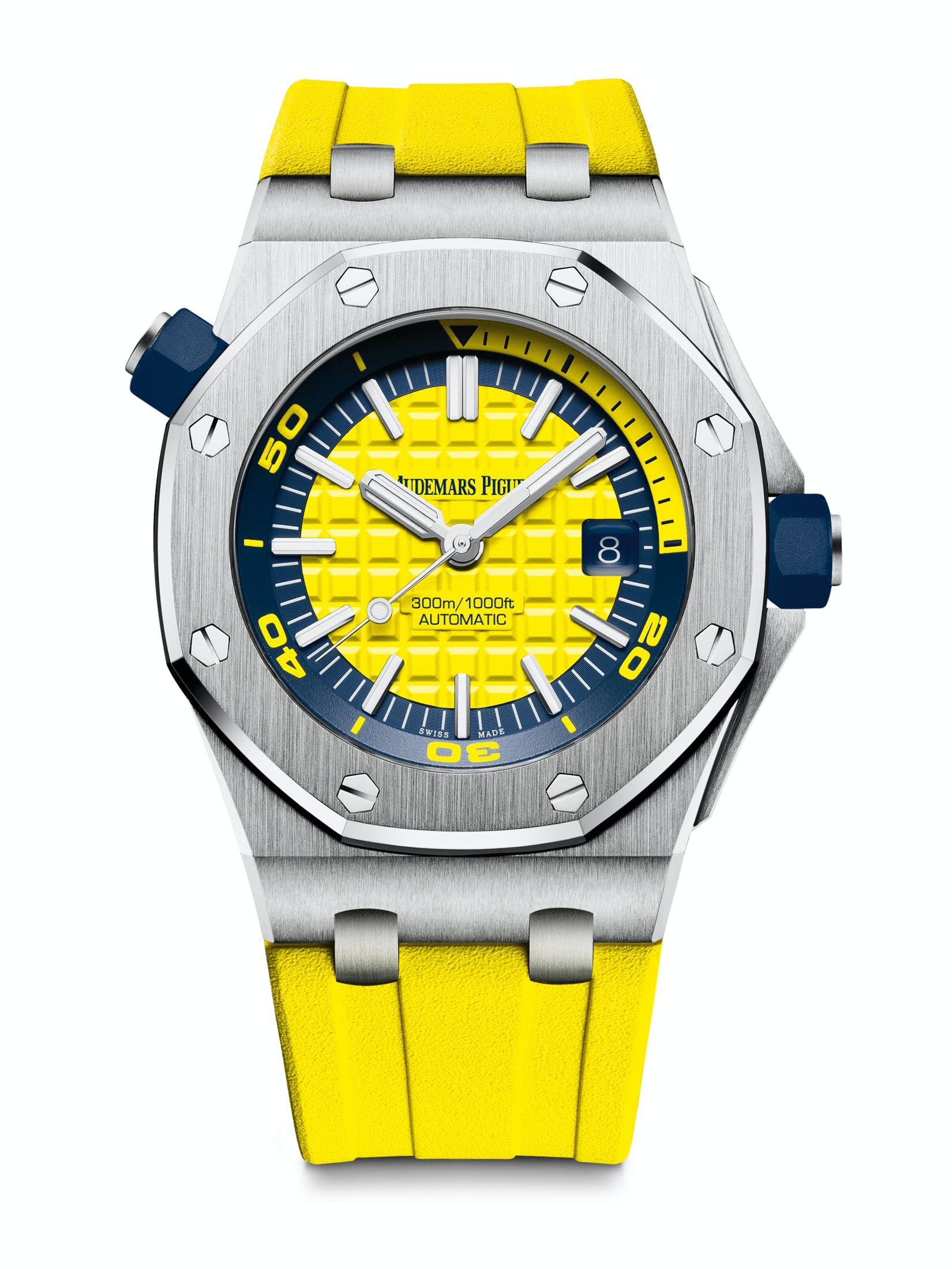 Introducing: The Audemars Piguet Royal Oak Offshore Diver In A Suite Of New (Bright) Colors Introducing: The Audemars Piguet Royal Oak Offshore Diver In A Suite Of New (Bright) Colors diver 05