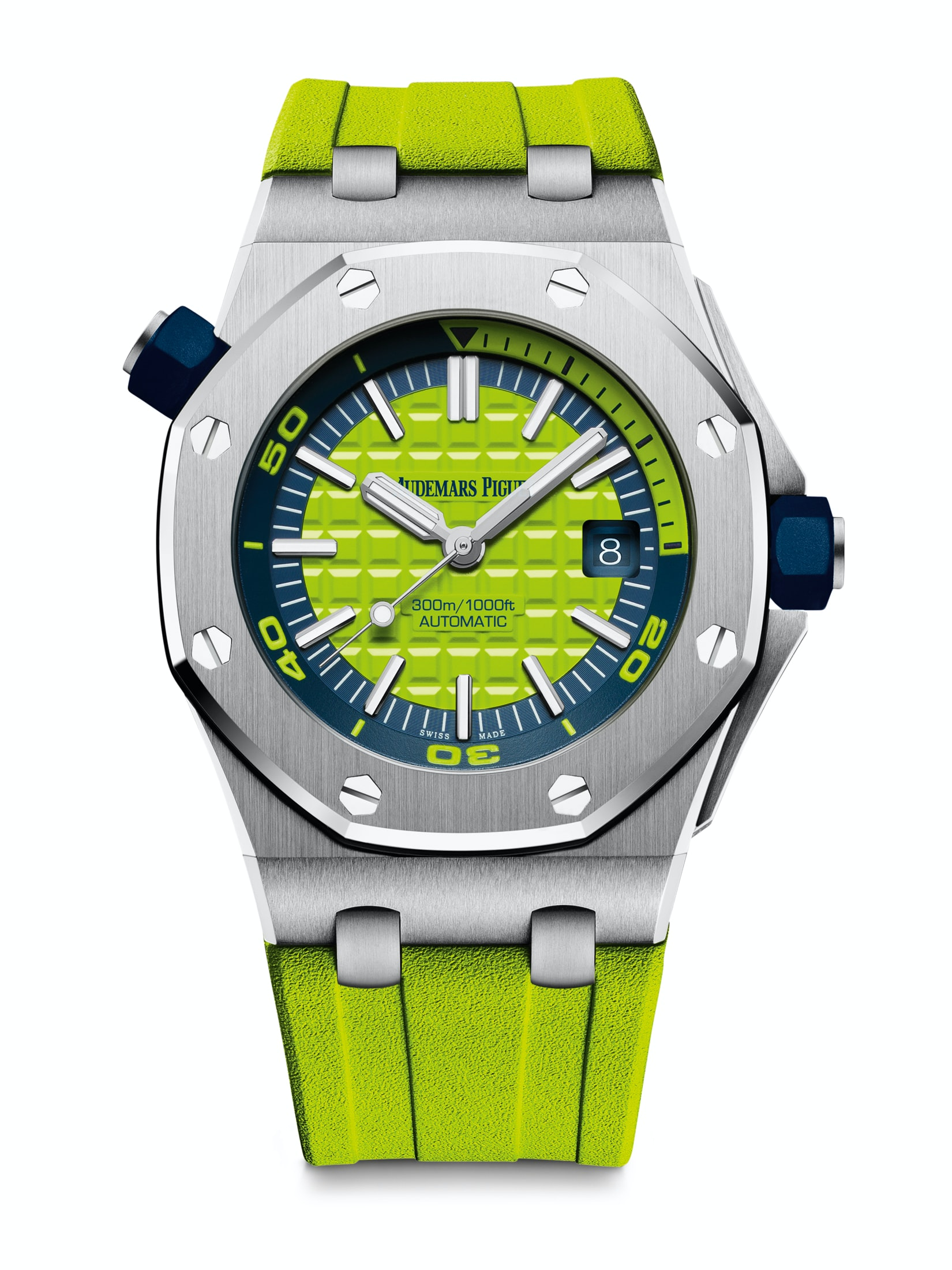 Introducing: The Audemars Piguet Royal Oak Offshore Diver In A Suite Of New (Bright) Colors Introducing: The Audemars Piguet Royal Oak Offshore Diver In A Suite Of New (Bright) Colors diver 04