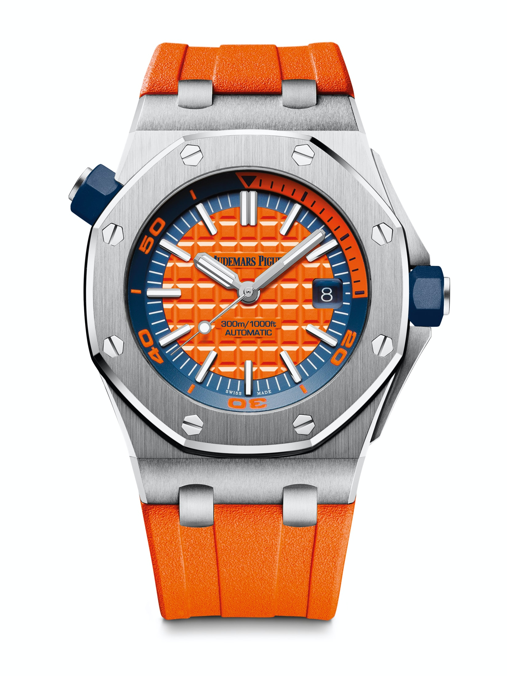 Introducing: The Audemars Piguet Royal Oak Offshore Diver In A Suite Of New (Bright) Colors Introducing: The Audemars Piguet Royal Oak Offshore Diver In A Suite Of New (Bright) Colors diver 06