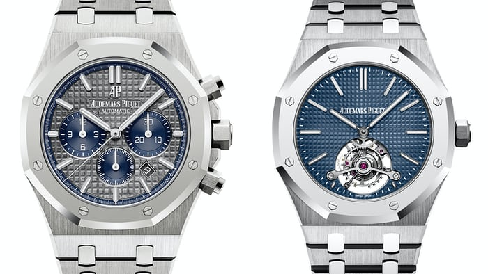 Audemars Piguet Royal Oak Tourbillon Extra-Thin And Royal Oak Chronograph SIHH 2017