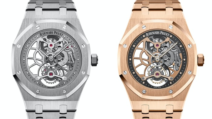 Audemars Piguet Royal Oak Tourbillon Extra-Thin Openworked SIHH 2017