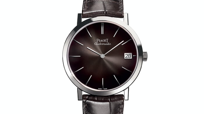 Piaget Altiplano 40mm With Patinated Grey Dial SIHH 2017