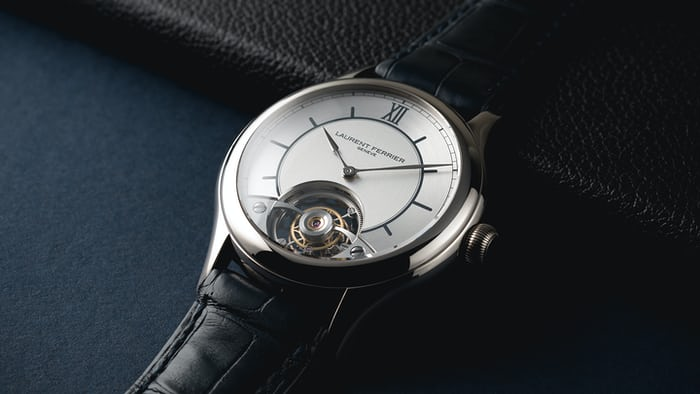 Laurent Ferrier Galet Classic Tourbillon With A Sector Dial SIHH 2017