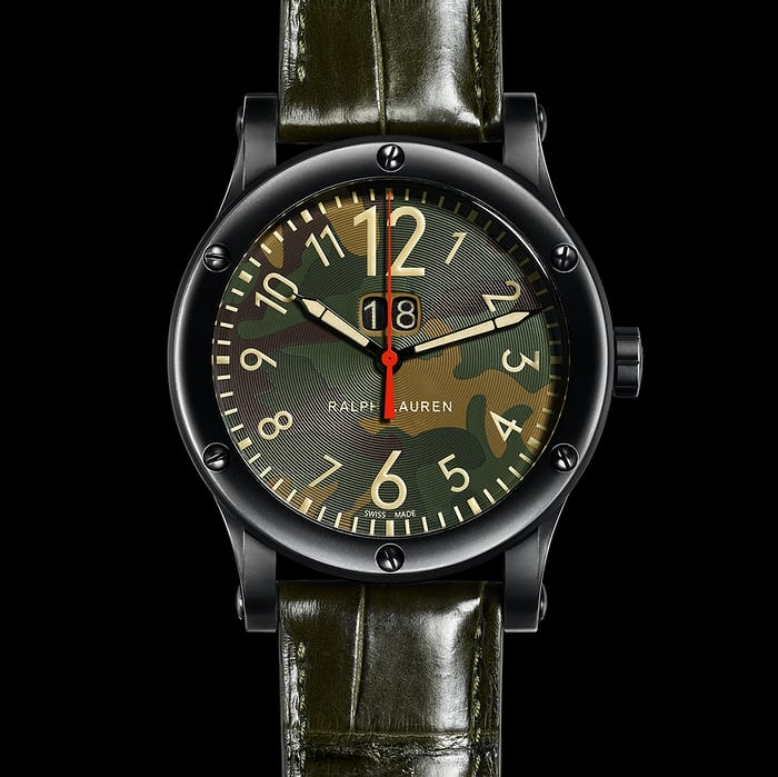 Ralph Lauren RL67 Safari Grand Date 50mm camo dial