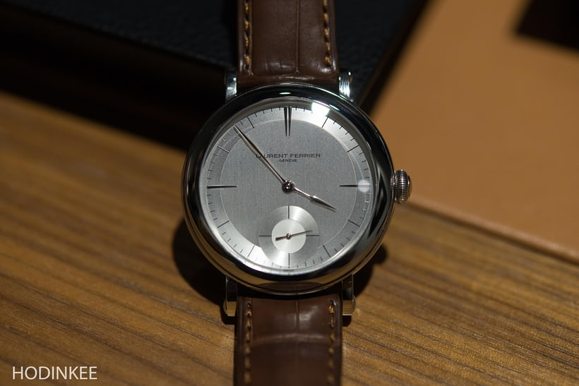 Laurent Ferrier Montre École
