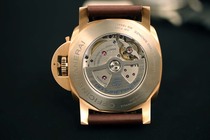 Panerai's manufacture made caliber P.9010
