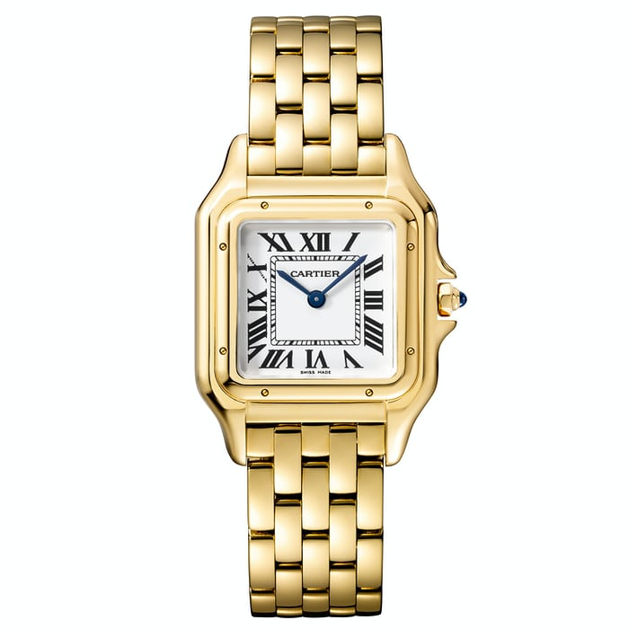Panthère De Cartier yellow gold medium