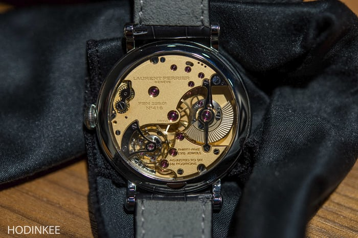 Laurent Ferrier Montre École movement