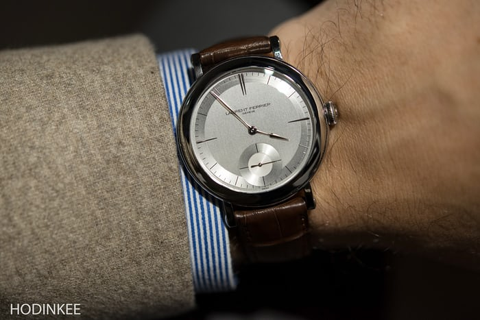 Laurent Ferrier Montre École wrist shot
