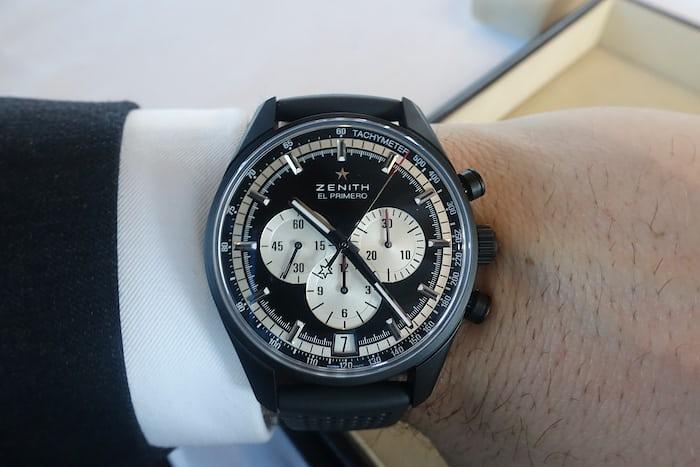 Zenith El Primero Black wristshot