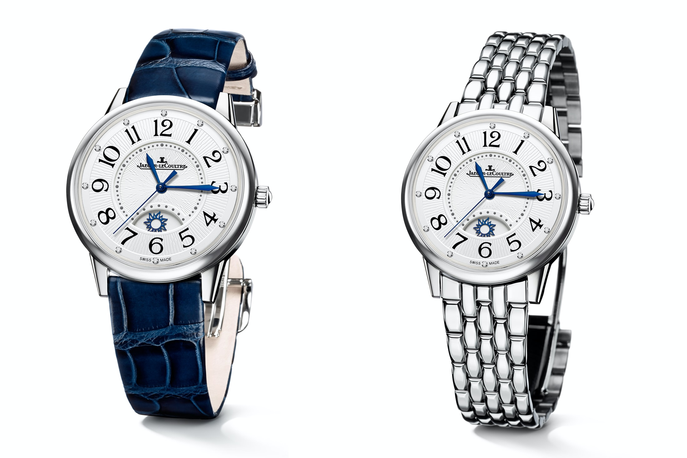 Introducing: The Jaeger-LeCoultre Rendez-Vous Night & Day In New 38.5mm 'Large' Size Introducing: The Jaeger-LeCoultre Rendez-Vous Night & Day In New 38.5mm 'Large' Size jlc steel