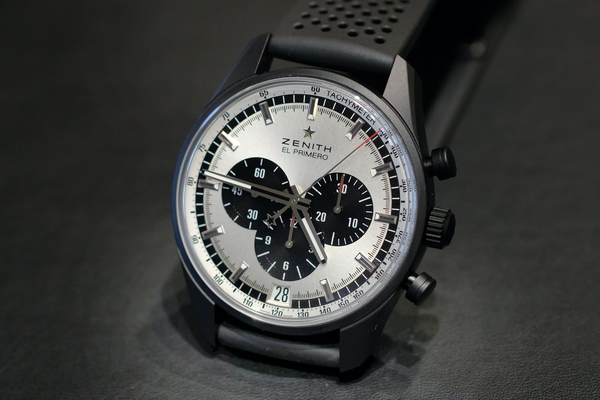 Zenith El Primero Range Rover Introducing: The Zenith El Primero 36,000 vph, Or The Return Of The Panda (Live Pics + Details) Introducing: The Zenith El Primero 36,000 vph, Or The Return Of The Panda (Live Pics + Details) zenith 03