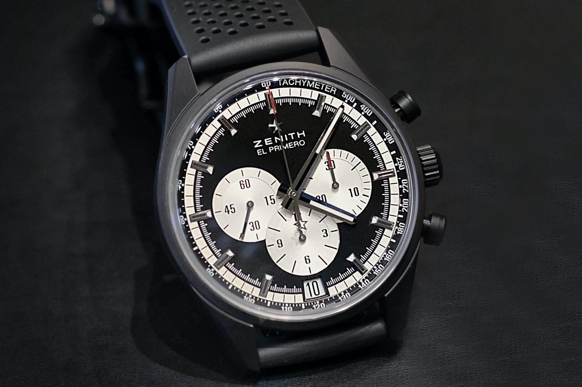 Zenith El Primero 42mm Introducing: The Zenith El Primero 36,000 vph, Or The Return Of The Panda (Live Pics + Details) Introducing: The Zenith El Primero 36,000 vph, Or The Return Of The Panda (Live Pics + Details) zenith 02