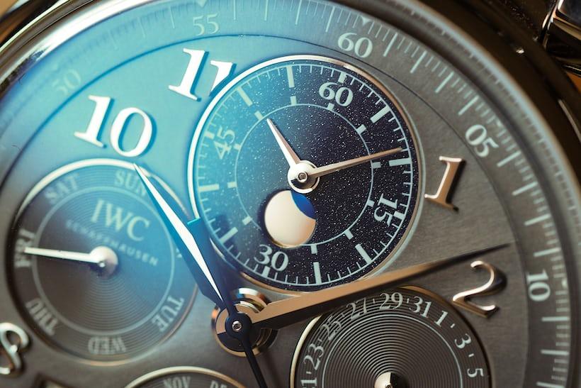 IWC Da Vinci Perpetual Calendar Chronograph, In Steel moonphase