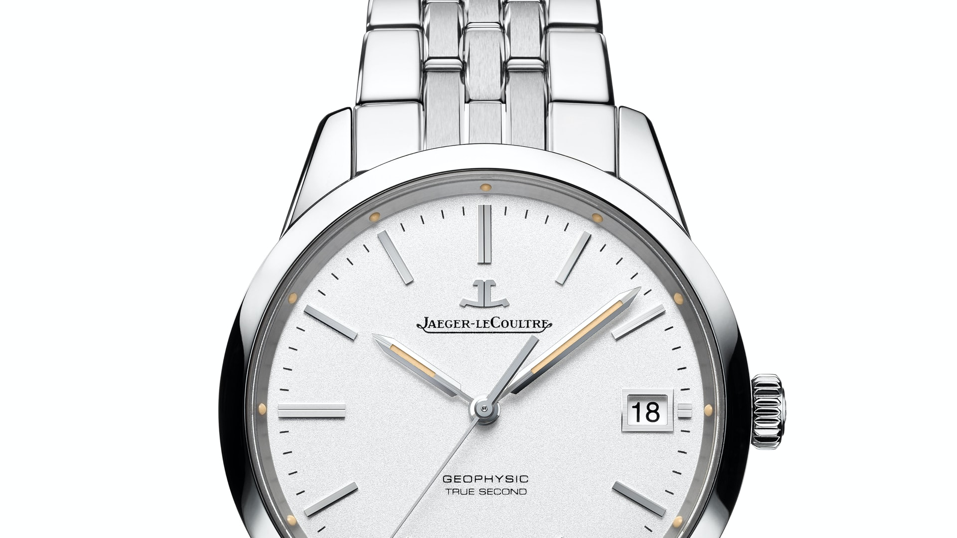 Introducing: The New Interchangeable And Easily Adjustable Bracelet For the Jaeger-LeCoultre Geophysic True-Second (It's Cooler Than It Sounds)
