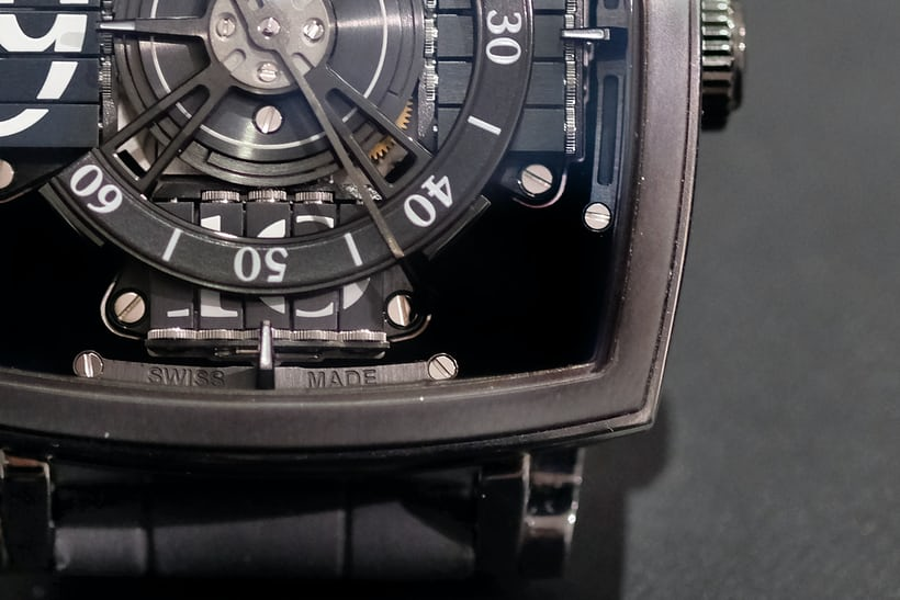 vantablack sequential one mct watch