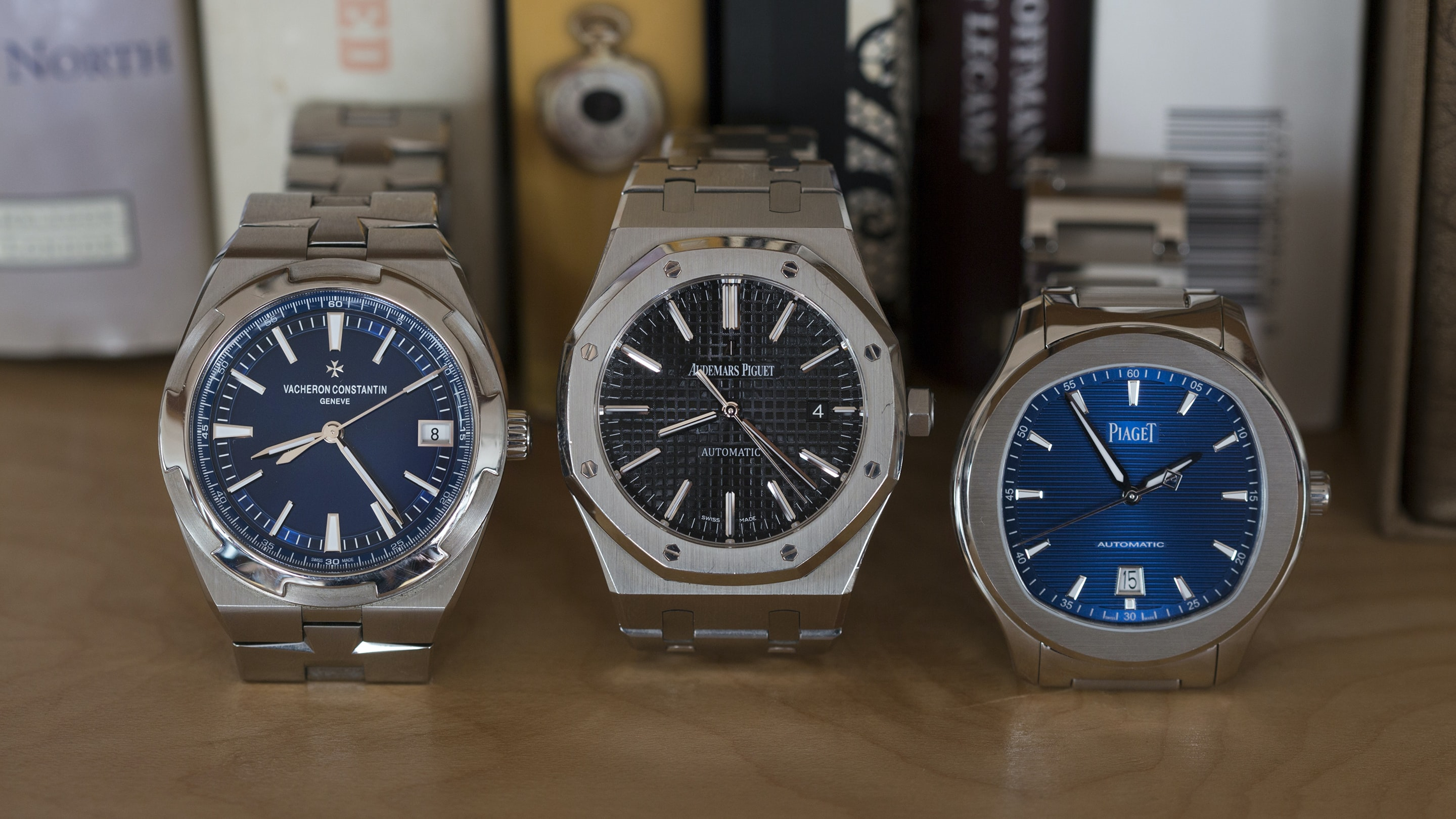 Three On Three: Comparing The Vacheron Constantin Overseas, The Piaget Polo S, And The Audemars Piguet Royal Oak 15400