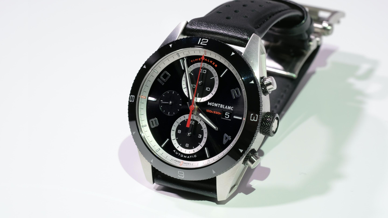 38e9a75de5b33 Hands-On  The Montblanc TimeWalker Chronograph Automatic - HODINKEE