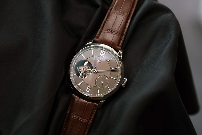 Greubel Forsey Tourbillon 24 Secondes Vision Chocolate Dial Front