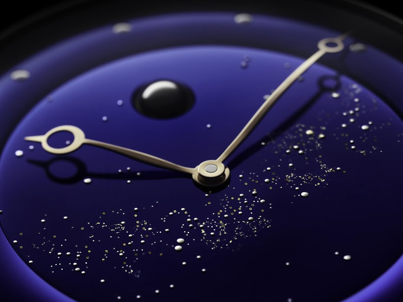 The dial of the DB25L Milky Way is inspired by the natural beauty of our galaxy.