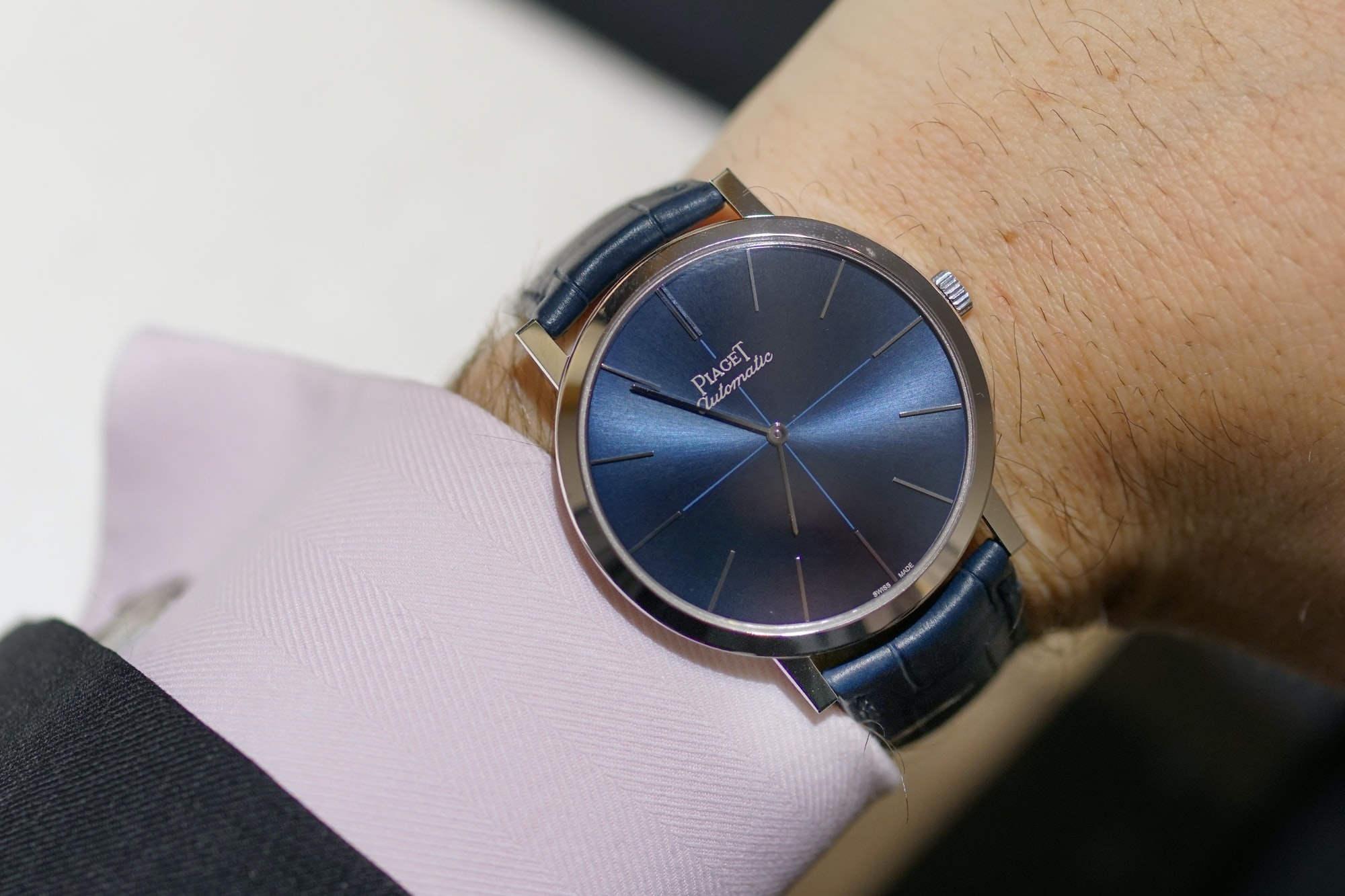 Piaget Altiplano Automatic 60th anniversary Introducing: The Piaget Altiplano Automatic With Date, Going Back To The Roots Of Piaget (Live Pics + Pricing) Introducing: The Piaget Altiplano Automatic With Date, Going Back To The Roots Of Piaget (Live Pics + Pricing) piaget wrist