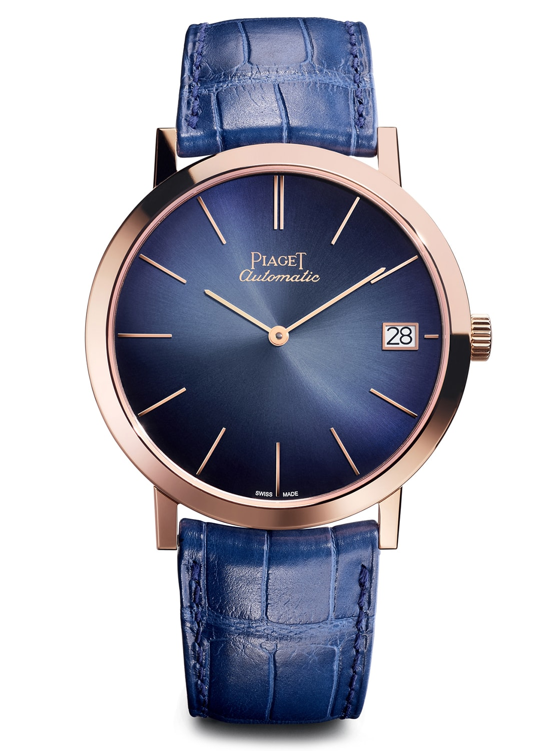 Rose gold with blue dial Altiplano with date 40mm. Introducing: The Piaget Altiplano Automatic With Date, Going Back To The Roots Of Piaget (Live Pics + Pricing) Introducing: The Piaget Altiplano Automatic With Date, Going Back To The Roots Of Piaget (Live Pics + Pricing) piaget 1