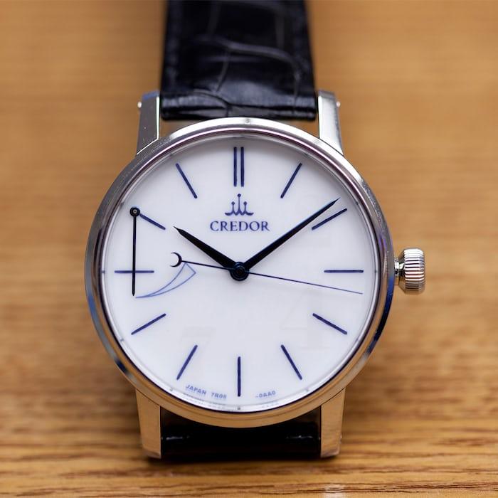 Seiko Credor Eichi original dial