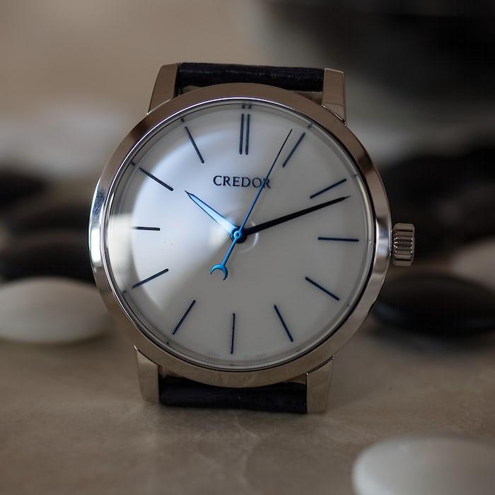Seiko Credor Eichi II hands and dial