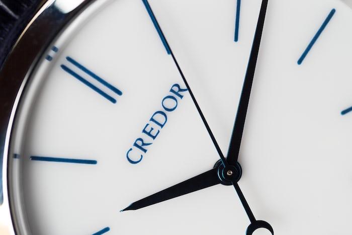 Seiko Credor Eichi II dial closeup