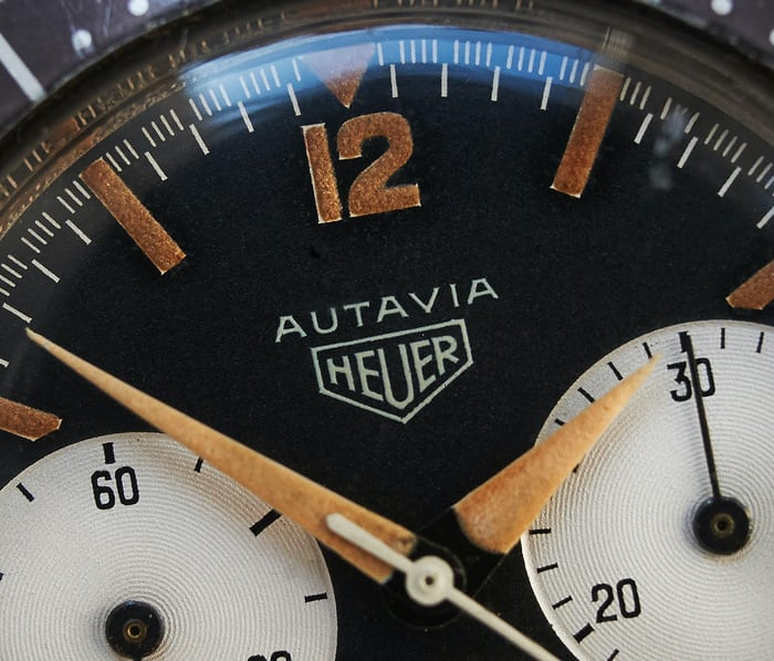 Heuer Autavia Reference 2446 dial