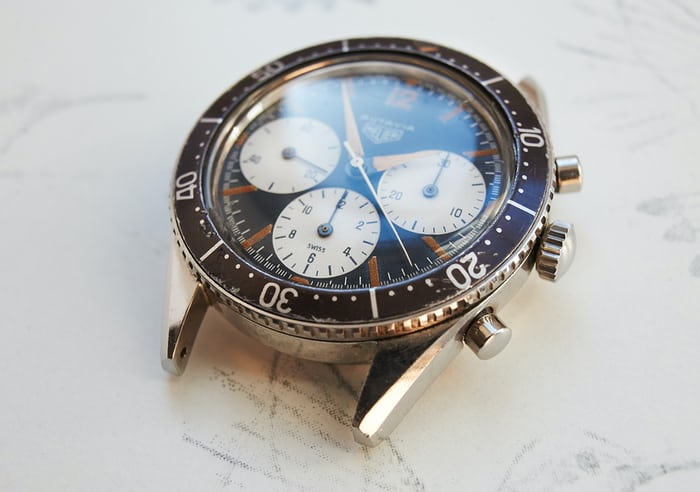 Heuer Autavia Reference 2446 case