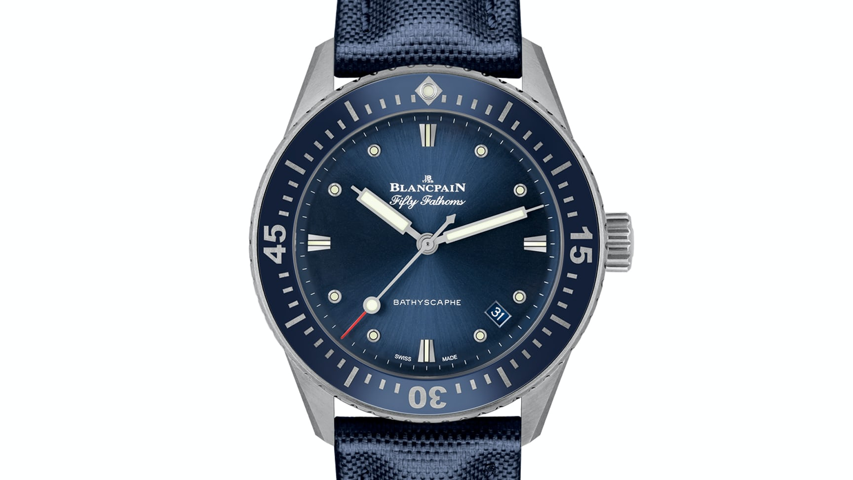 a19827f36d445 Introducing  The Blancpain Fifty Fathoms Bathyscaphe In 38mm - HODINKEE