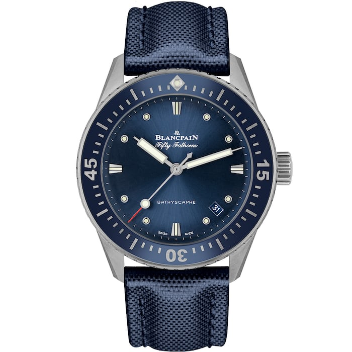 blue bathyscaphe 38mm blancpain