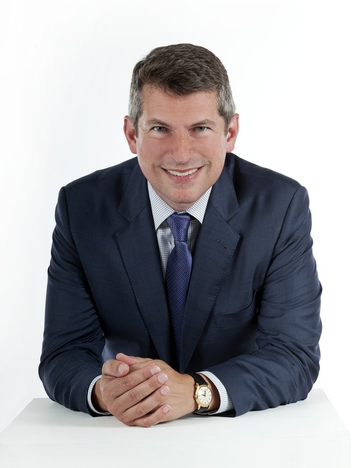 John Reardon, International Head of Watches at Christie's