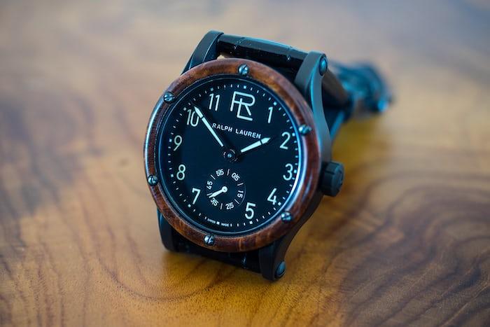 ralph lauren automotive 39mm watch
