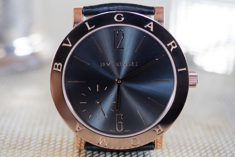 The Bulgari Roma Finissimo 2014