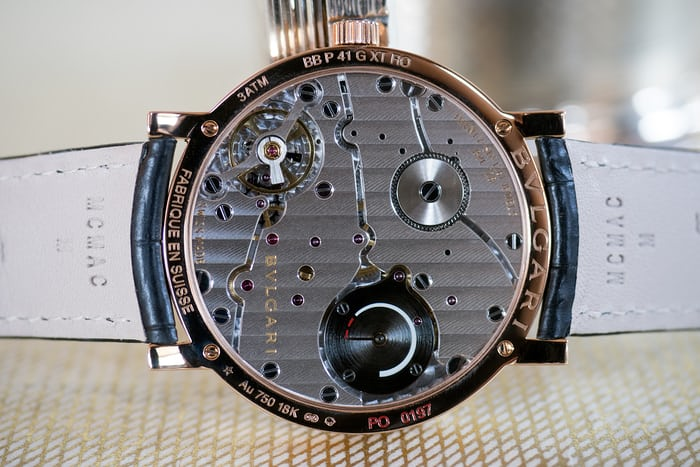 Bulgari in house caliber bvl 128