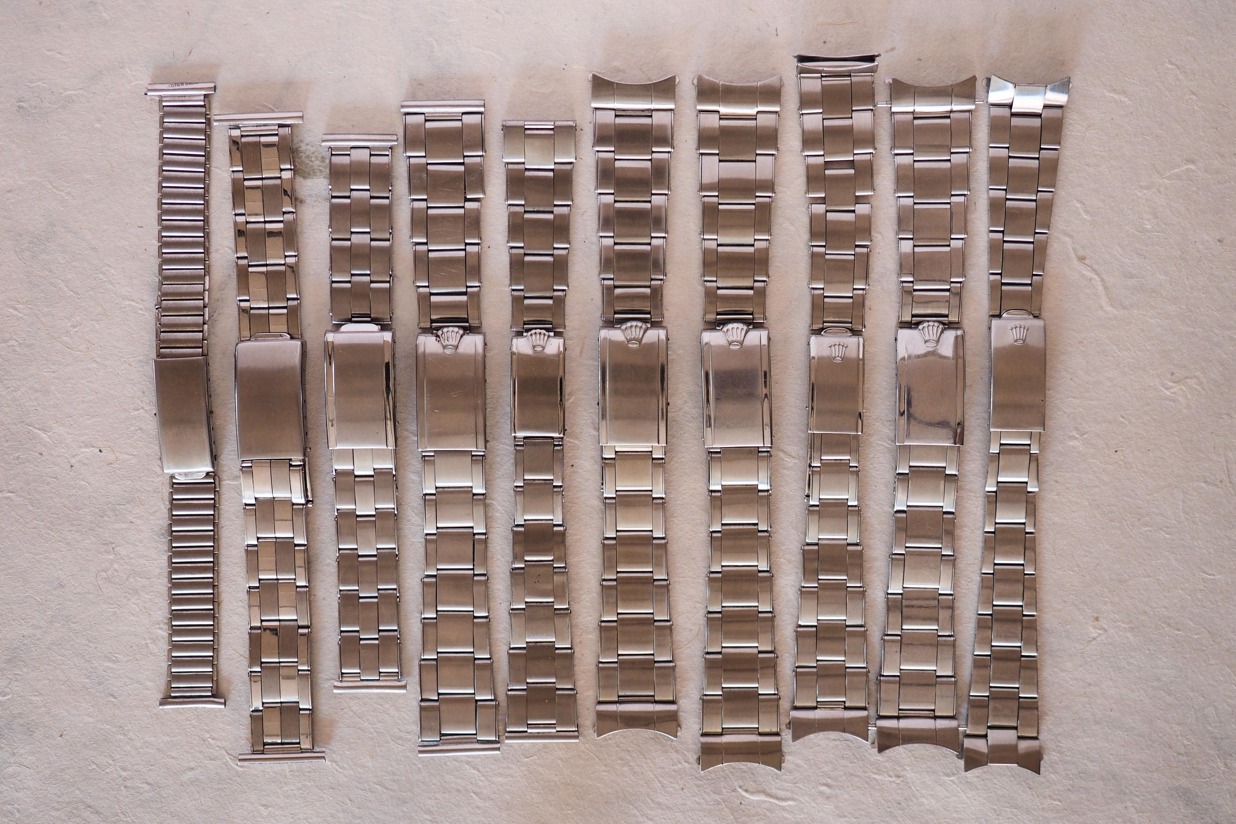 Historia das famosas braceletes oyster da Rolex P7140104