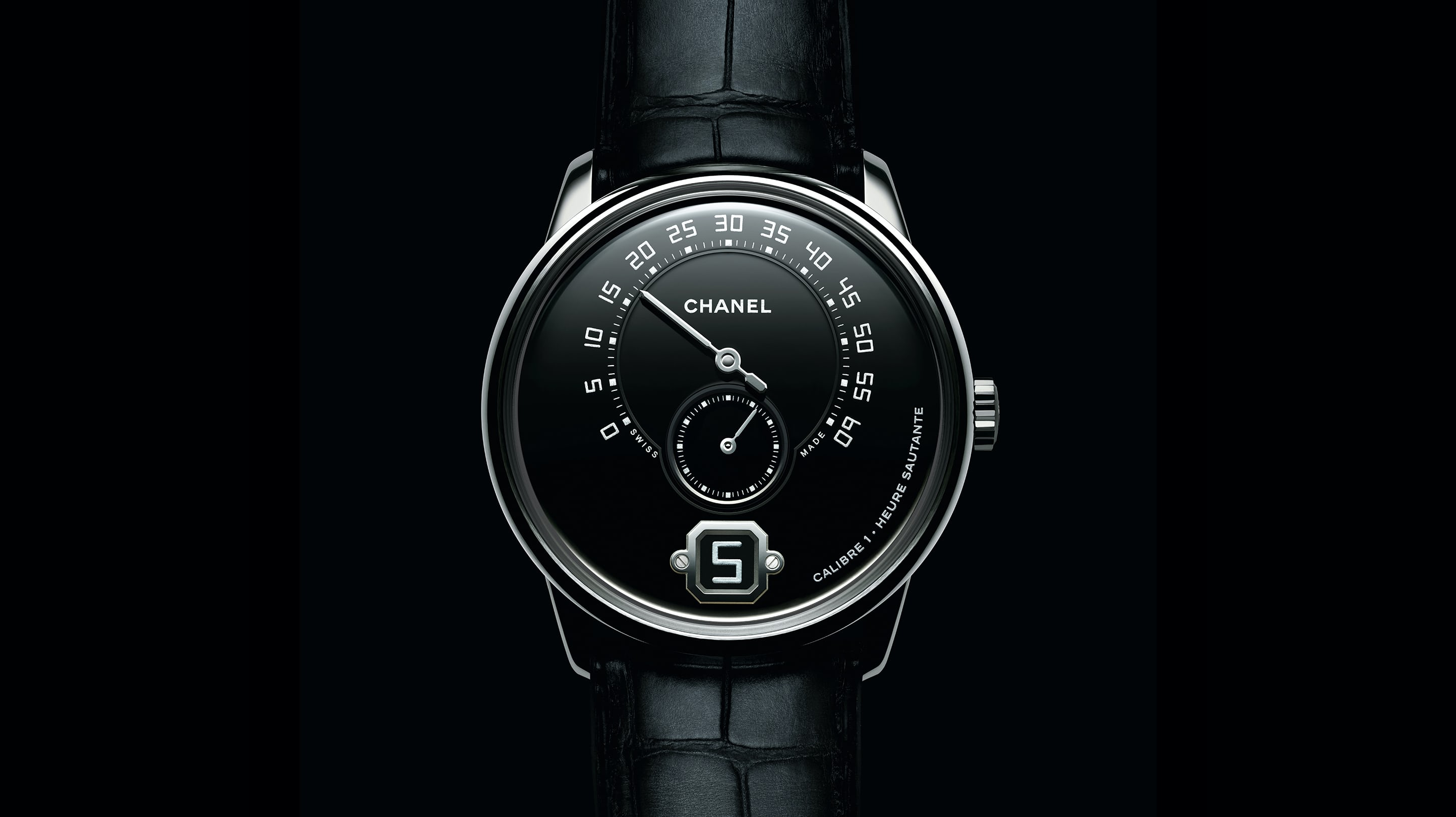 0269e2cec00c8 Introducing  The Monsieur de Chanel Limited Edition In Platinum With Black  Enamel Dial - HODINKEE