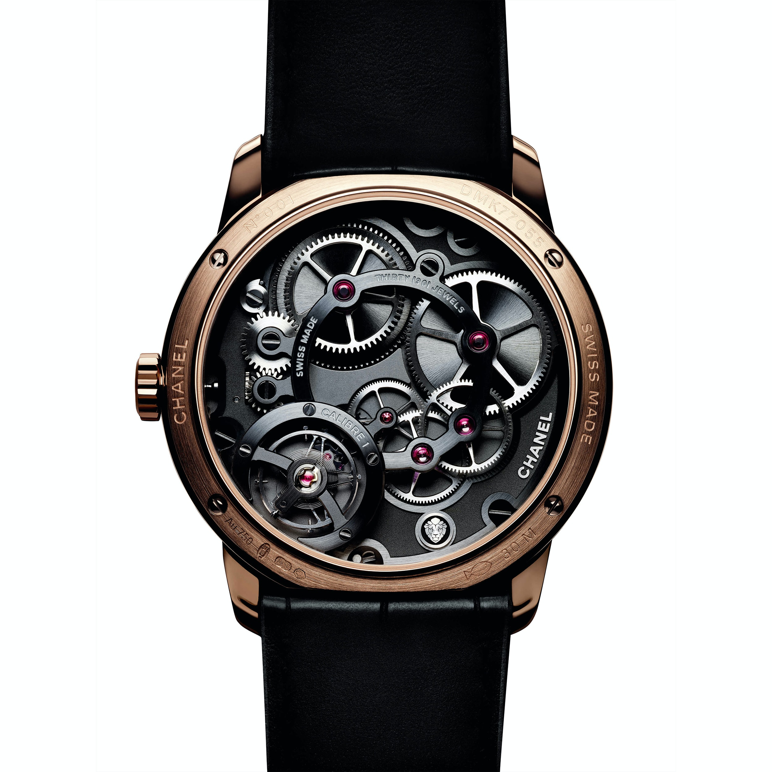 monsieur de chanel caliber 1 Introducing: The Monsieur de Chanel Limited Edition In Platinum With Black Enamel Dial Introducing: The Monsieur de Chanel Limited Edition In Platinum With Black Enamel Dial Chanel Inline 2